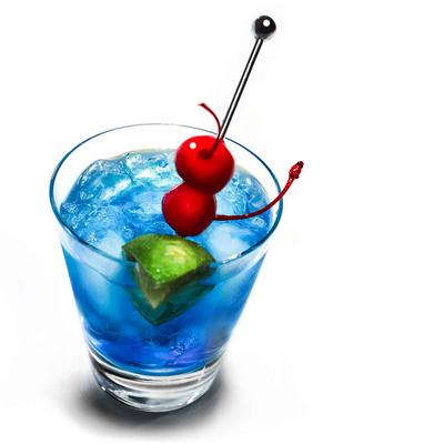 Code Blue Cocktail Rezept