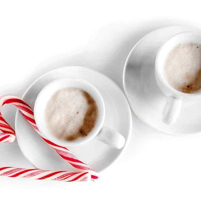 Hot Chocolate Candy Cane flavoured- das Rezept