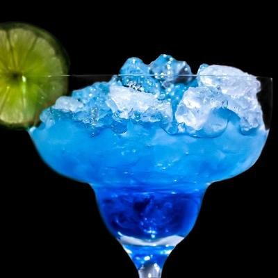 Electric Blue Margarita Cocktail