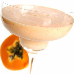 Papaya Ingwer Cocktail
