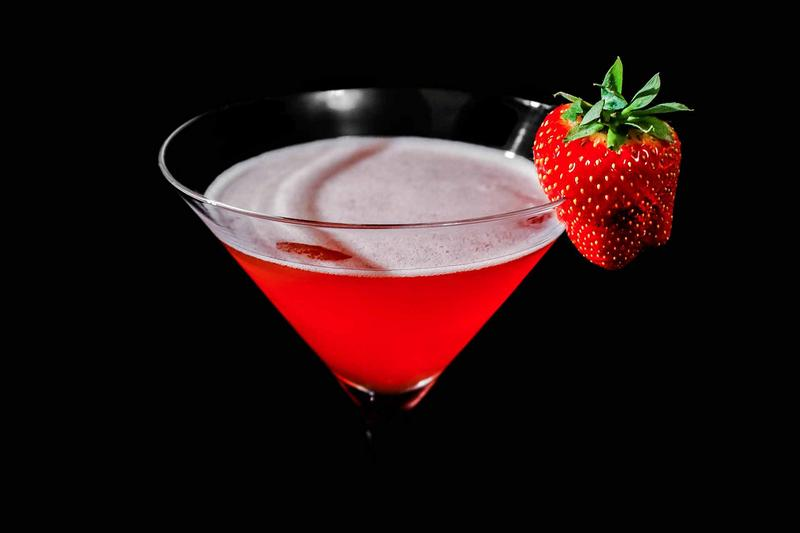 Wild Strawberry Cocktail Rezept